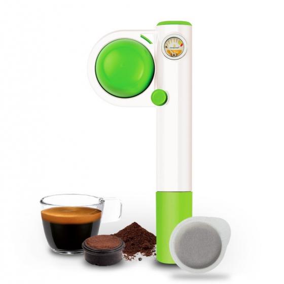 handpresso pop manuell grön från handpresso.se