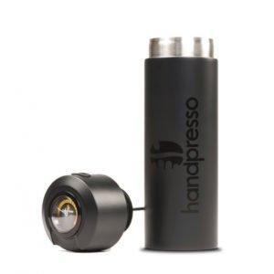 handpresso termos med termometer svart från handpresso.se